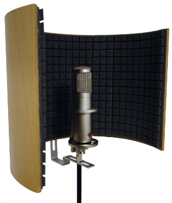 Акустические экраны для микрофона своими руками