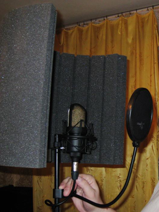 Акустический экран для микрофона своими руками видео 90